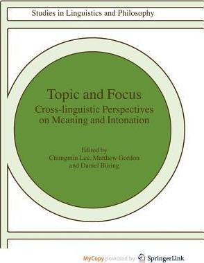 Topic and Focus