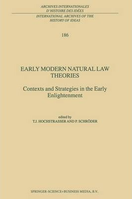 Early Modern Natural Law Theories