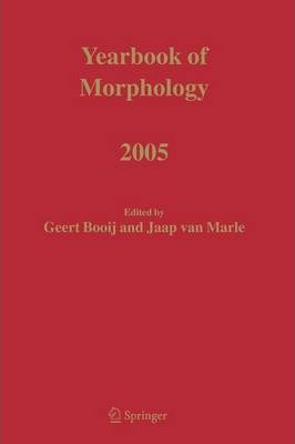 Yearbook of Morphology 2005