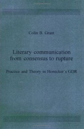 Literary communication from consensus to rupture