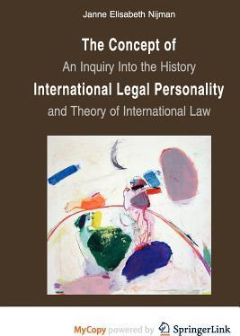 The Concept of International Legal Personality