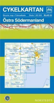 Sodermanland East Cycling Map