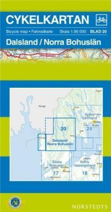 Dalsland/Bohuslan North Cycling Map