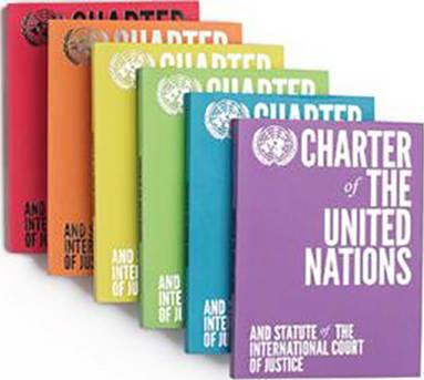 Charter of the United Nations and Statute of the International Court of Justice : English-language Limited Edition - Blue