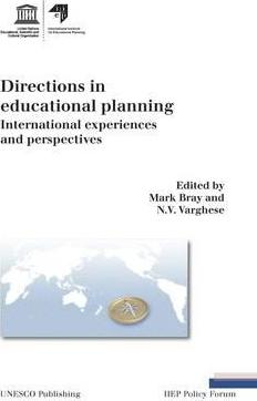 Directions in educational planning  international experiences and perspectives