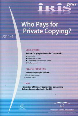 Who Pays for Private Copying?