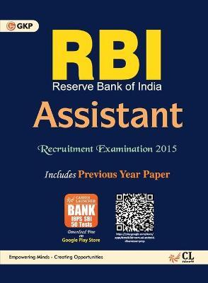 Rbi (Reserve Bank Of India) Assistant Recruitment Examination 2015