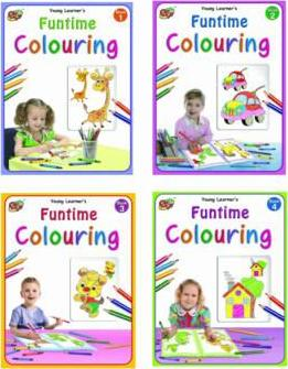 Funtime Colouring Books