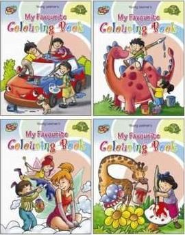 My Favourite Colouring Series