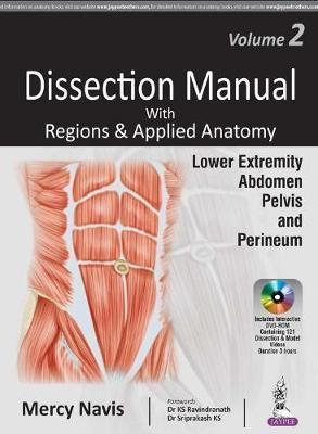 Dissection manual with regions applied anatomy mercy navis dissection manual with regions applied anatomy volume 2 lower extremity abdomen pelvis perineum ccuart Choice Image