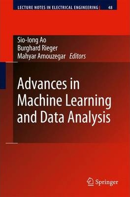 Advances in Machine Learning and Data Analysis
