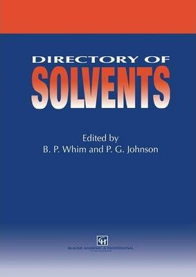 Directory of Solvents