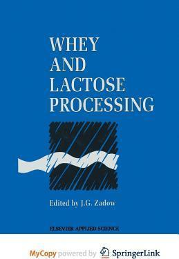 Whey and Lactose Processing