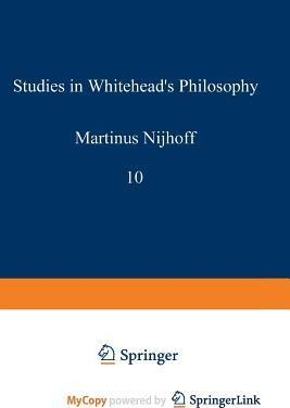 Studies in Whitehead's Philosophy