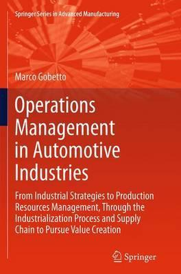 Operations Management in Automotive Industries : Marco