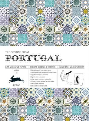Tile Designs from Portugal : Gift & Creative Paper Book Vol. 56