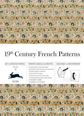 19th Century French: Gift & Creative Paper Book: Vol. 68