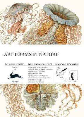 Art Forms in Nature : Gift & Creative Paper Book Vol. 83