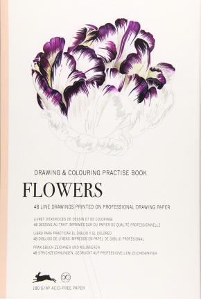 Flowers : Drawing & Colouring Practise Book