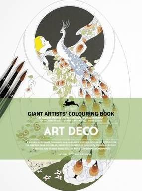 Art Deco : Giant Artists' Colouring Book