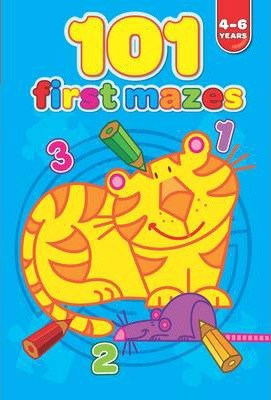 101 First Mazes 4-6 Years