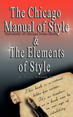 The Chicago Manual Of Style The Elements Of Style Pdf Epub