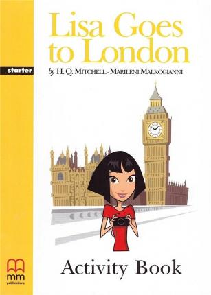 Lisa Goes to London - Activity Book