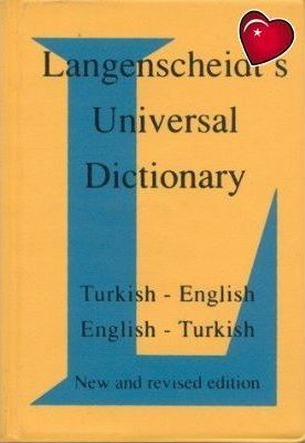 Langenscheidt English-Turkish, Turkish-English Universal Dictionary