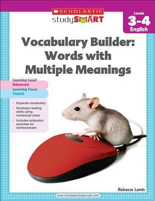 vocabulary builder words with multiple meanings level 3 4