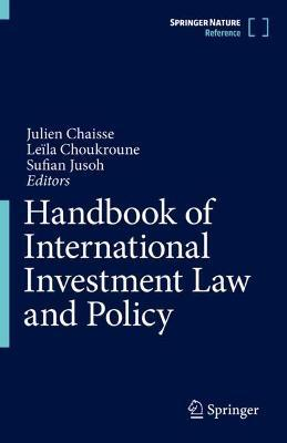 Handbook of International Investment Law and Policy