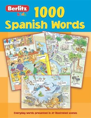 Berlitz 1000 Words: Kids Spanish