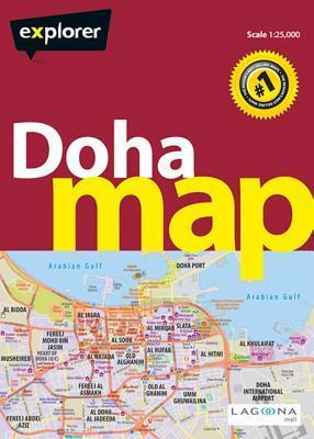 Doha & Qatar Map