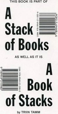 Triin Tamm - a Stack of Books as Well as it is a Book of Stacks