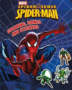 Coloring - Games and Stickers - Spider-man - Marvel
