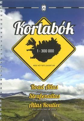 Iceland Road Atlas, with Town Plans, 2014-2015 2014