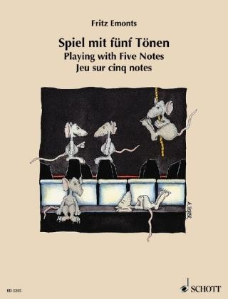 Spiel mit 5 Tönen. Playing with Five Notes