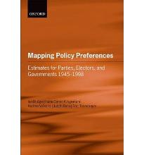 Mapping Policy Preferences: Estimates for Parties, Electors, and Governments ...