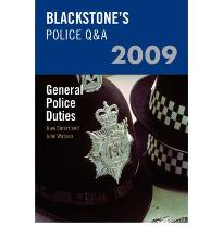 Blackstone's Police Q&A: General Police Duties 2009 [Paperback] by Smart, Huw