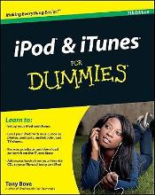 iPod and iTunes for Dummies  Paperback  by Bove, Tony