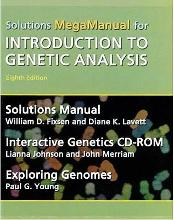 Mega Solutions Manual For Introduction to Genetic Analysis by Fixsen, William...
