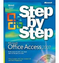 Microsoft Office Access 2007 Step by Step Book CD Package  Step by Step  Micr...