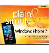 Windows Phone 7 Plain and Simple  Plain & Simple   Paperback  by Stroh, Michael
