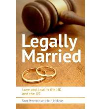 Legally Married: Love and Law in the UK and the US  Paperback  by Scot Peters...