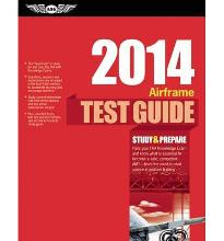 AIRFRAME TEST GUIDE 2014  Fast-track Test Guides   Paperback  by ASA TEST PREP