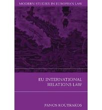 EU International Relations Law  Modern Studies in European Law   Paperback