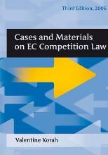 Cases and Materials on EC Competition Law  Paperback  by Korah, Valentine