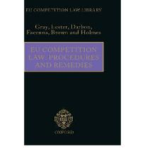 EU Competition Law: Procedures and Remedies (EU Competition Law Library)