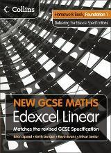 New GCSE Maths: Homework Book Foundation 1: Edexcel Linear (A)
