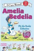Amelia Bedelia I Can Read Box Set #1: Amelia Bedelia Hit the Books
