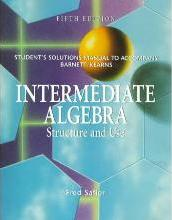 Student's Solutions Manual to Accompany Intermediate Algebra